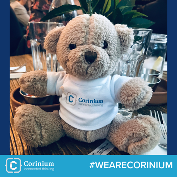 #WEARECORINIUM Bear we work post