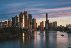 Brisbane Skyline - Small