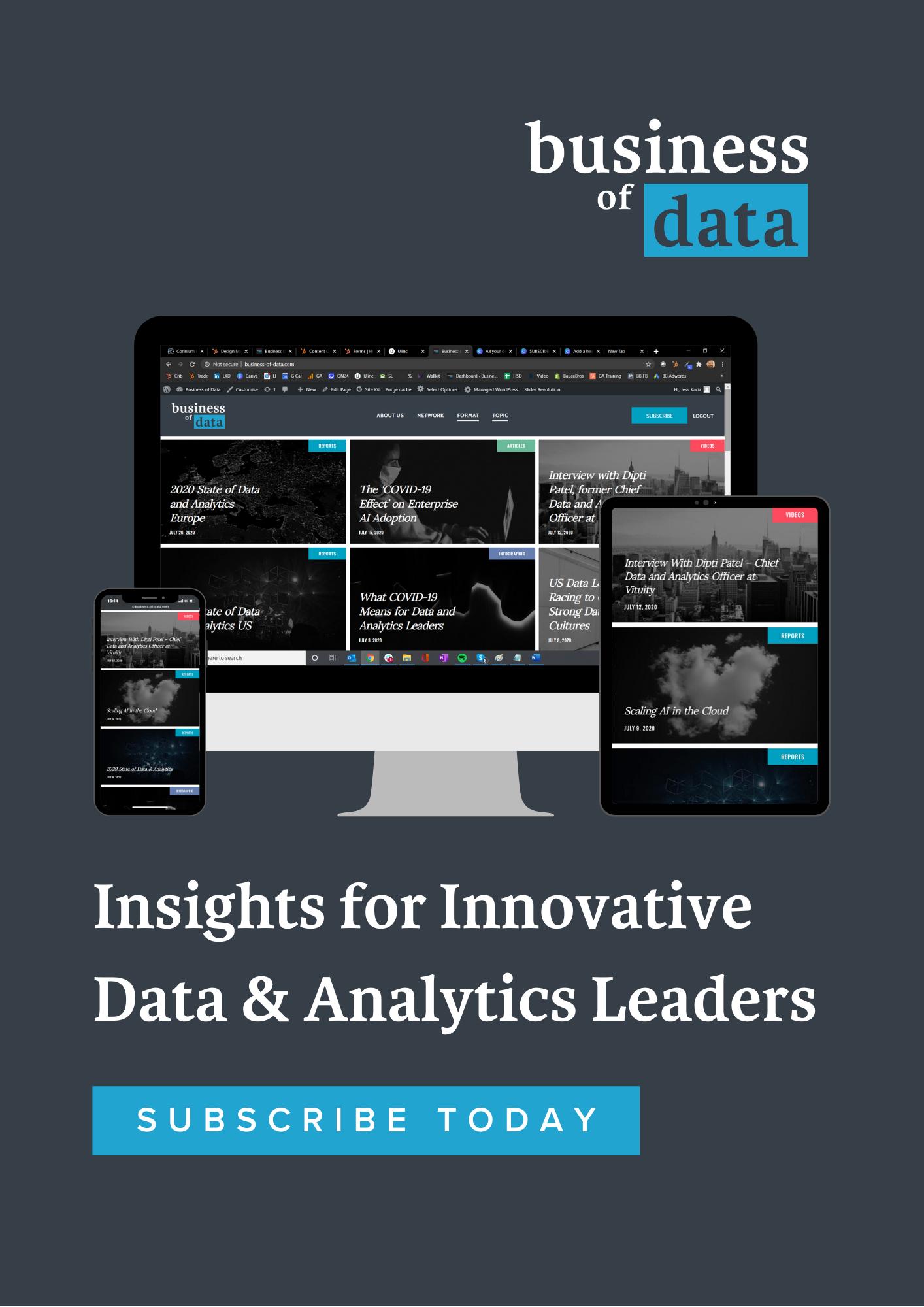 Business of Data CTA