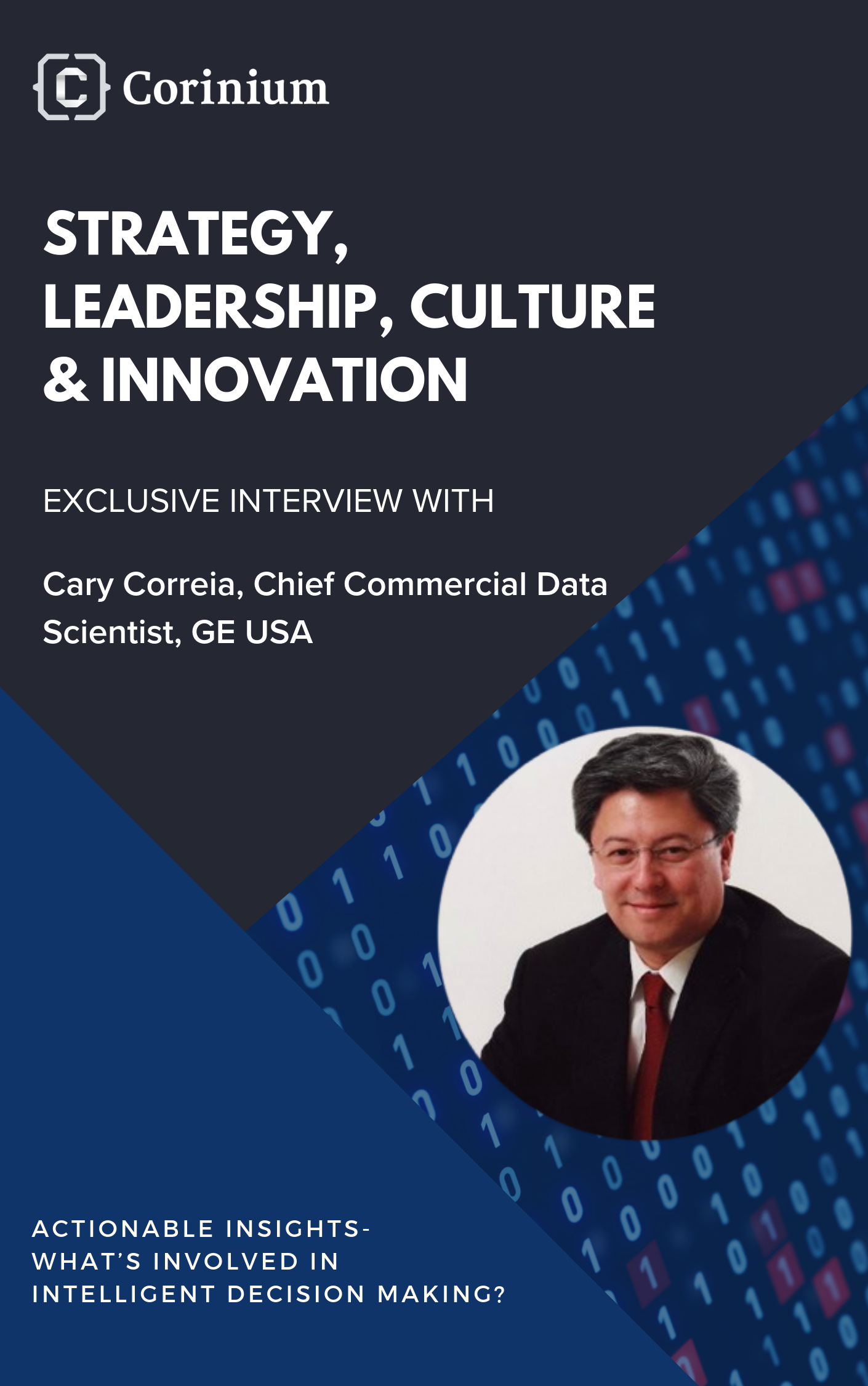 Strategy, Leadership, Culture & Innovation Cary Correia