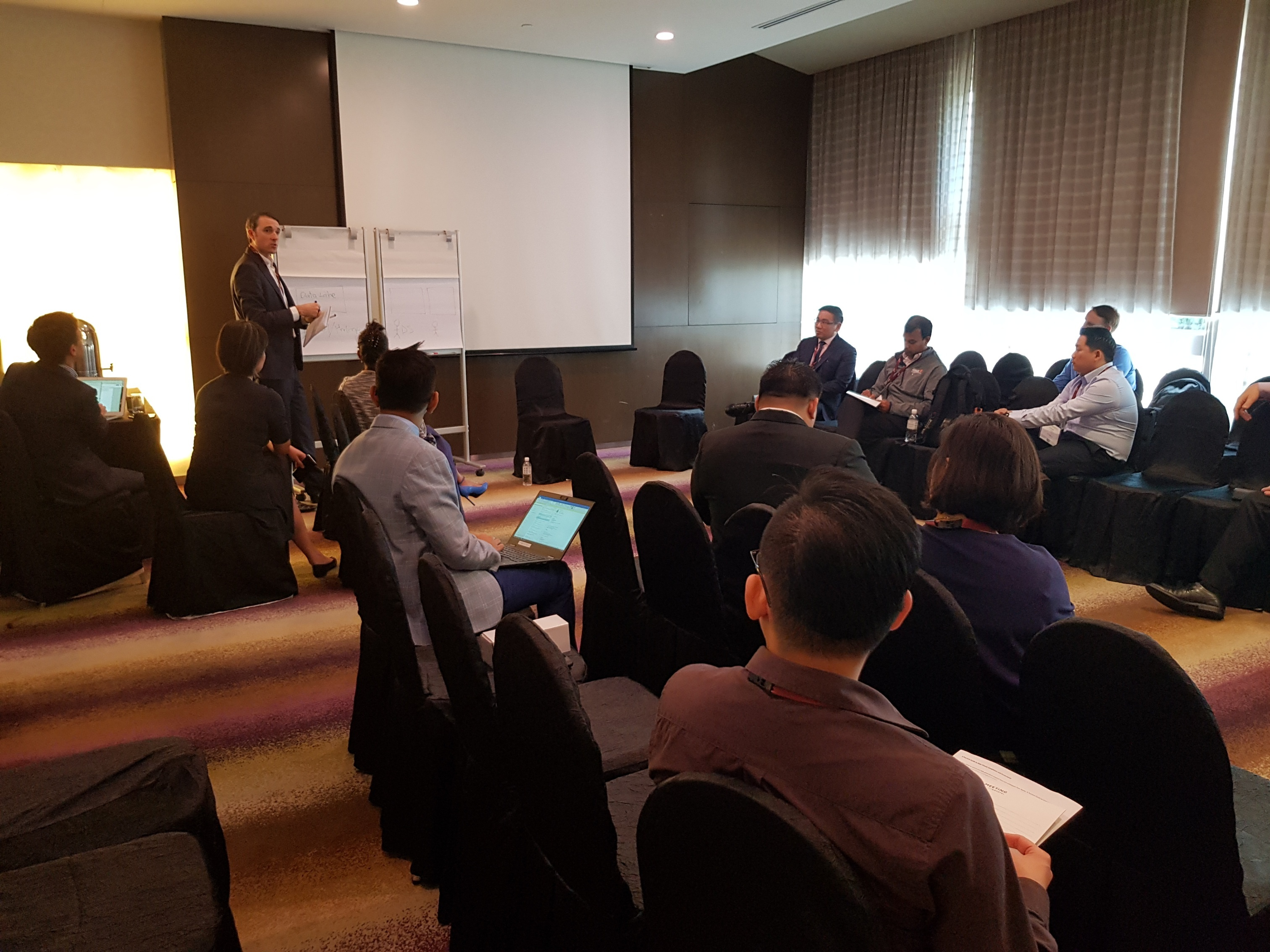 Cloudera Discussion group CDAO Singapore 2018