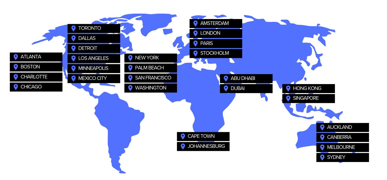 Corinium Map