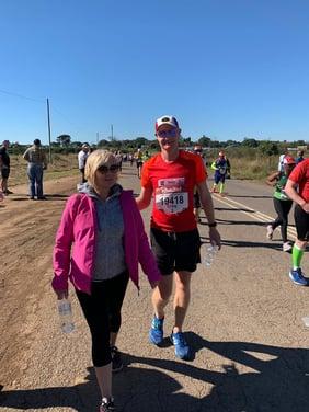 Craig running