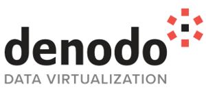 Denodo logo white background