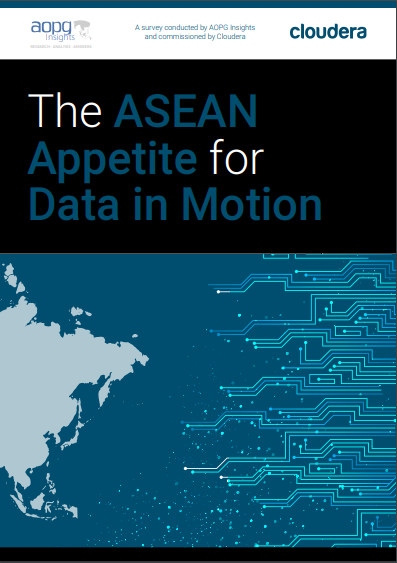 The ASEAN Appetite for Data in Motion.