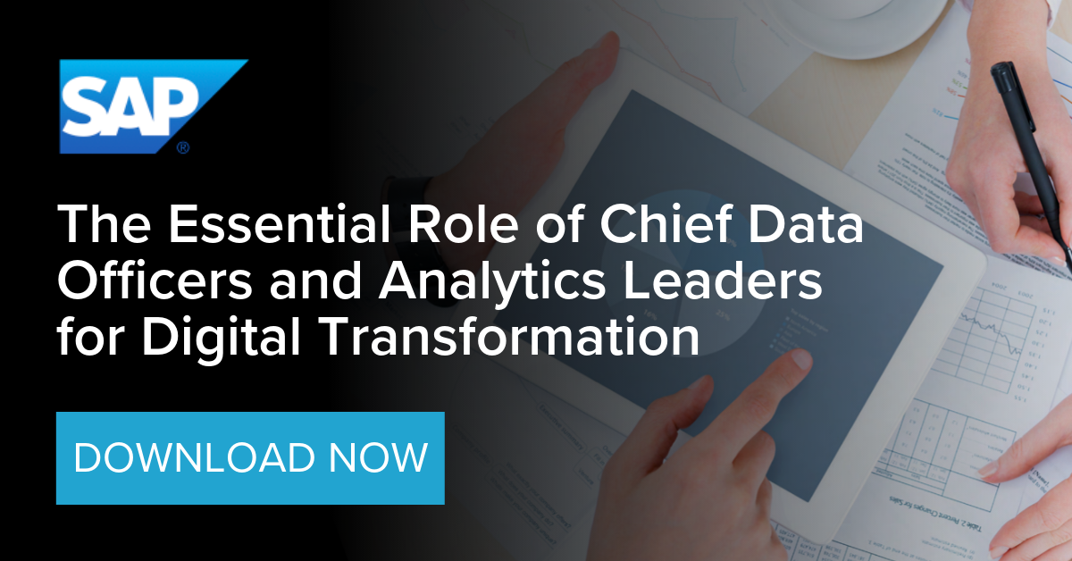 The Essential Role of Chief Data Officers and Analytic Leaders for Digital Transformation copy