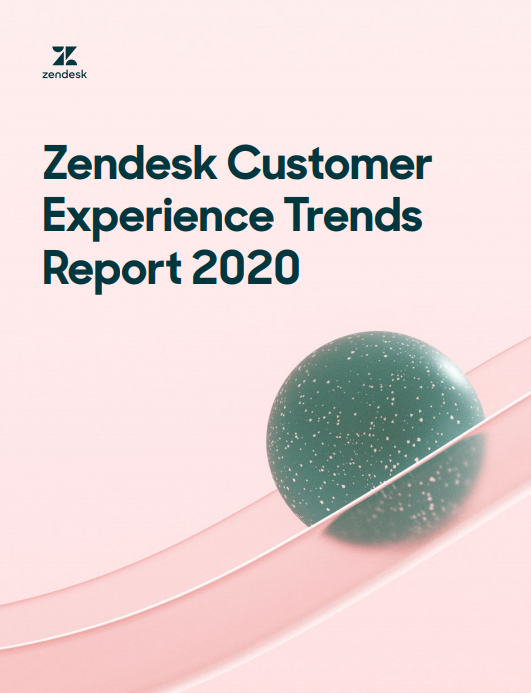 Zendesk CX trends 2020 Front page