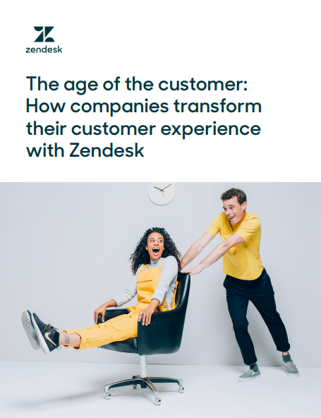 Zendesk the age of the customer image pdf