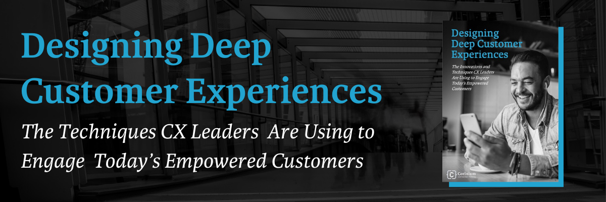 designing deep customer experiences banner