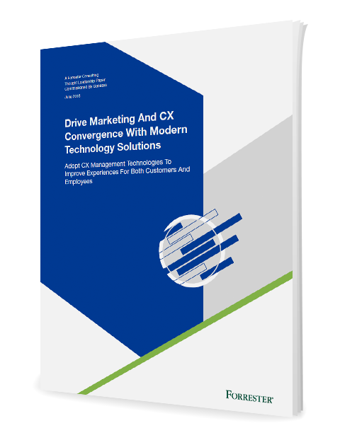 Forrester Study: Drive Marketing and CX Convergence. Partner Content with Genesys