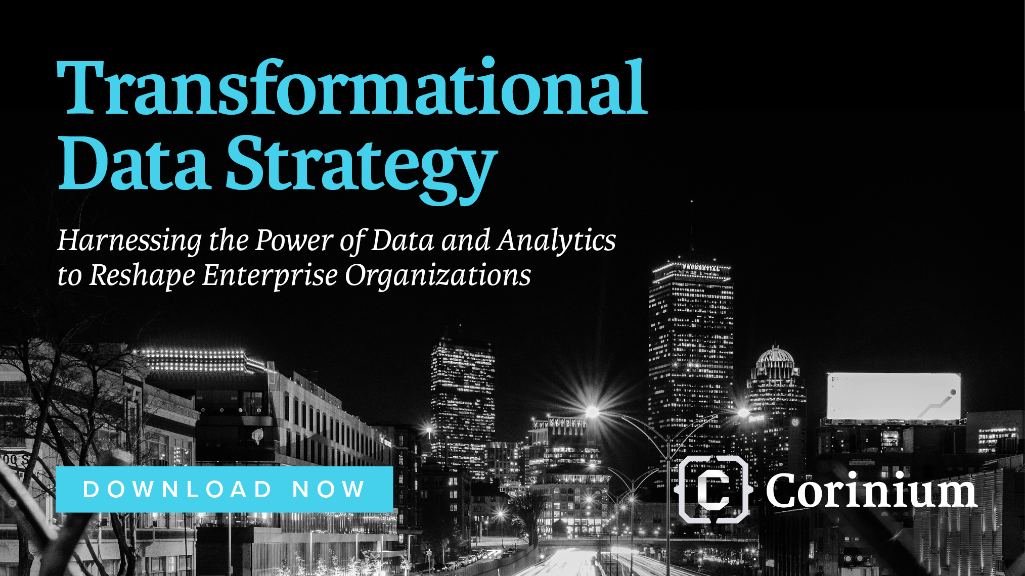 Transformational data strategy download now ad
