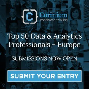 "Corinium Global Intelligence Opens Submissions for Their First ""Top 50 Data and Analytics Professionals (Europe)"" Report"