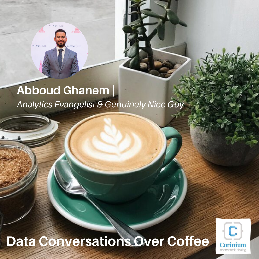 Video: Data Conversations Over Coffee with Abboud Ghanem (DQT)