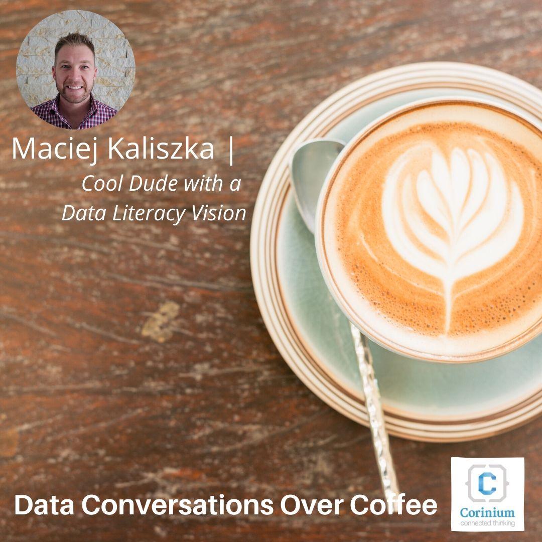Video: Data Conversations Over Coffee with Maciej Kaliszka (DQT)