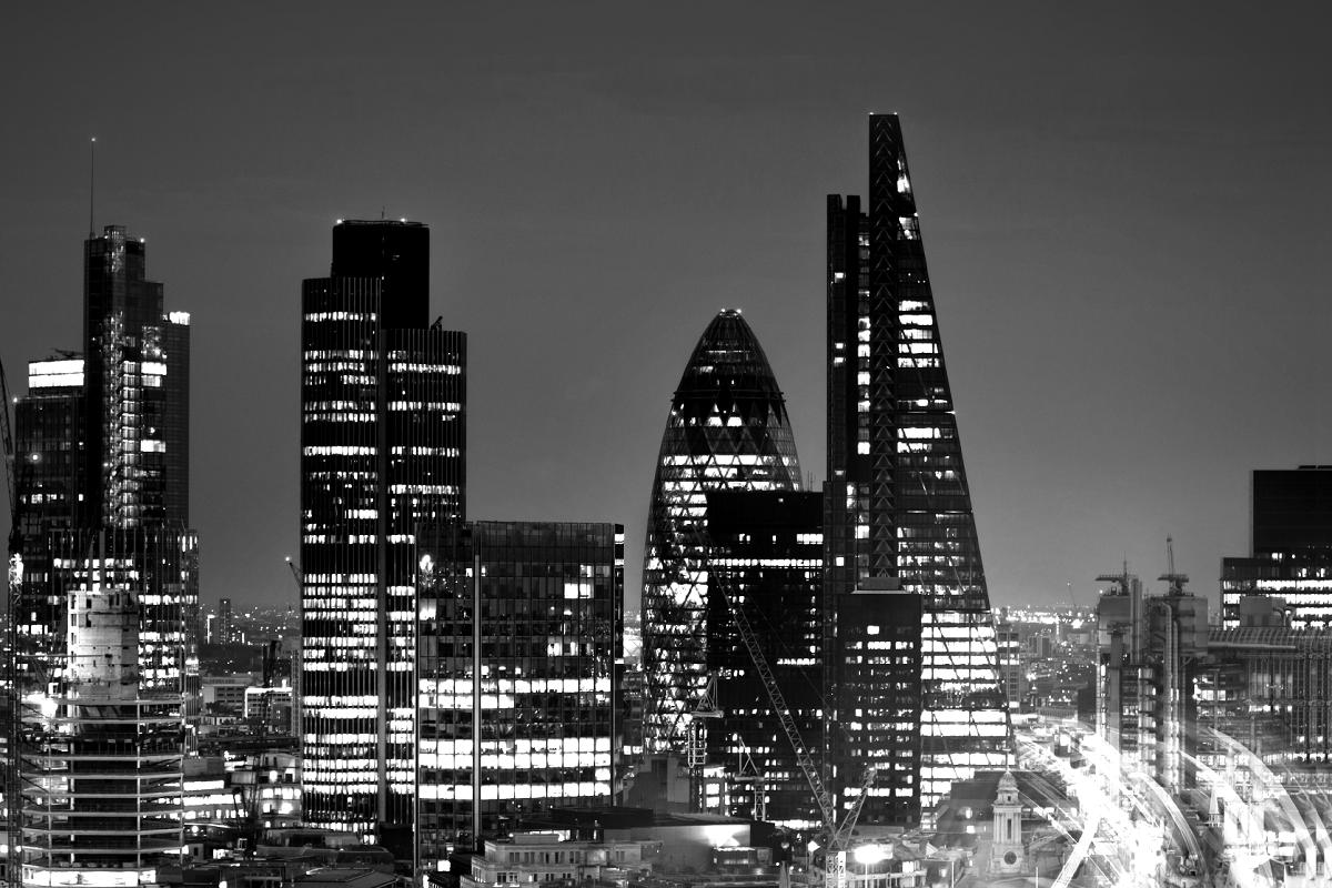 London skyline 120x800