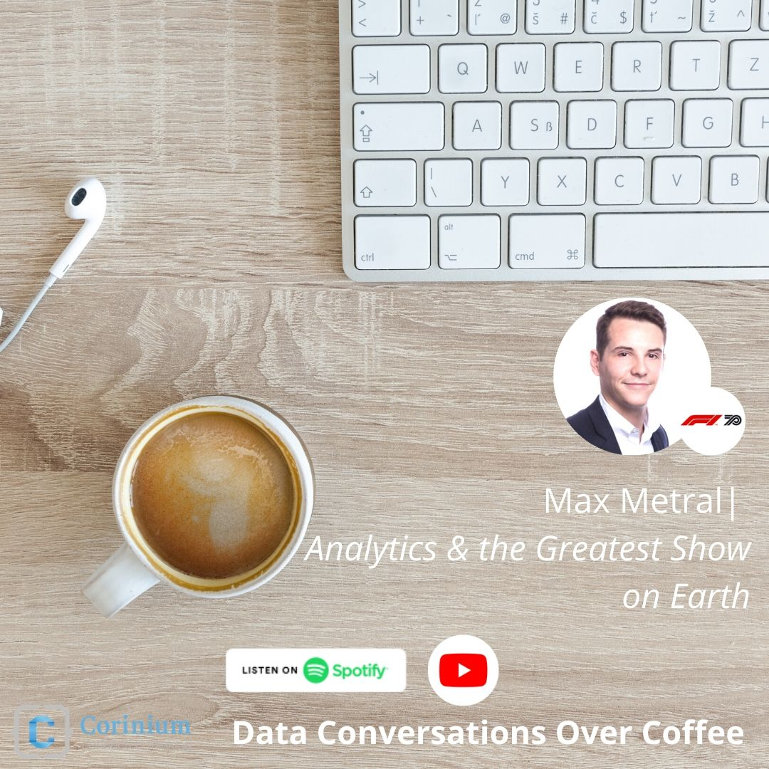 Video: Data Conversations Over Coffee with Max Metral (Formula 1)