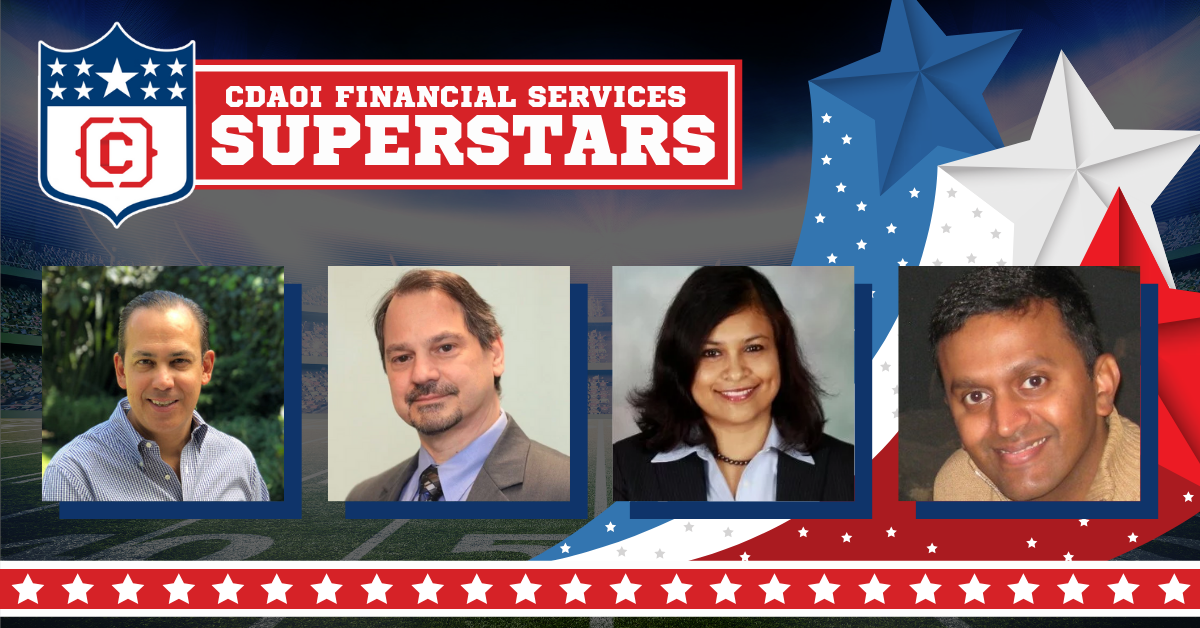 Introducing the Chief Data Analytics Officers & Influencers, Financial Services Superstars