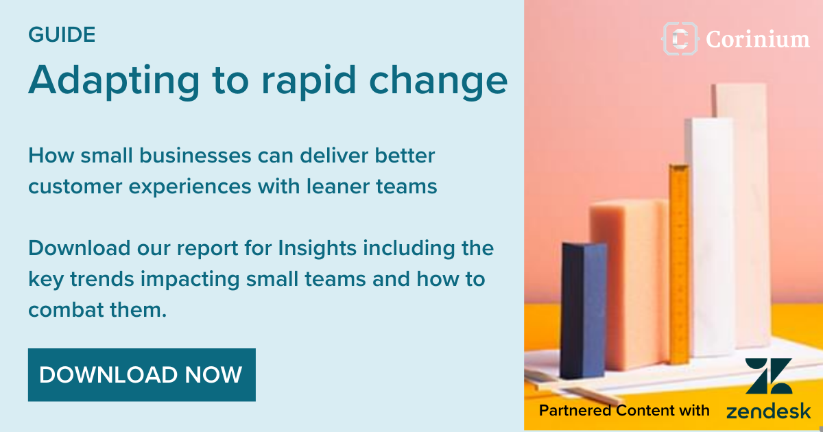 Guide: Adapting to rapid change - Partnered content with Zendesk