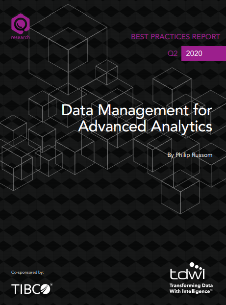 "Report ""Data Management for Advanced Analytics."" (TIBCO)"